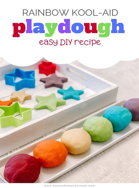 Diy-Kool-Aid-Playdough