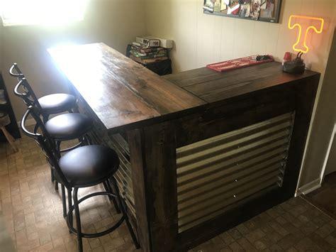 Diy-L-Shaped-Bar-Table
