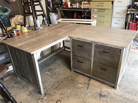 Diy-L-Shaped-Desk-With-File-Cabinets