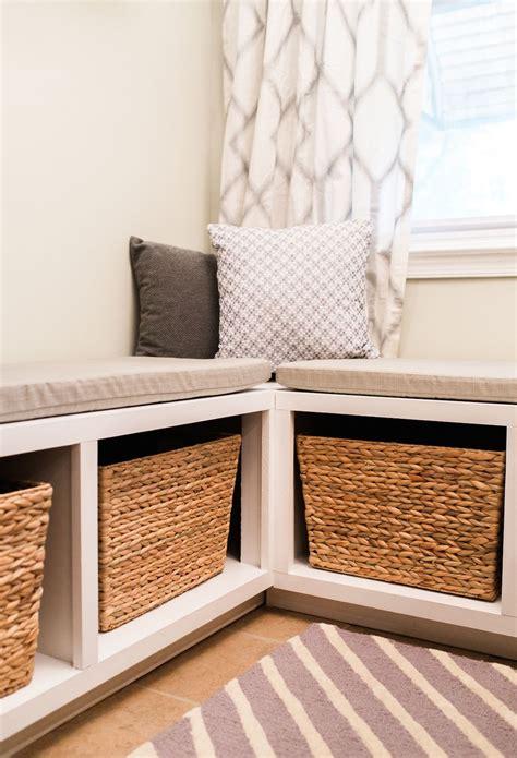 Diy-L-Shaped-Storage-Bench