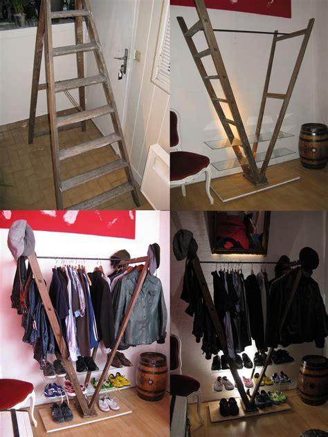 Diy-Ladder-Clothes-Rack