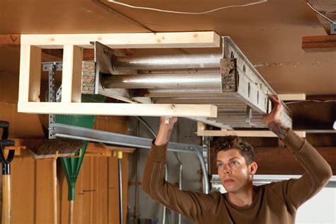 Diy-Ladder-Rack-For-Garage