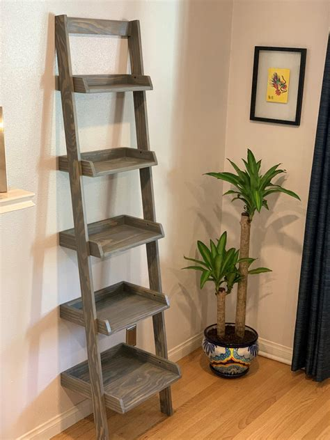 Diy-Ladder-Shelf-Ana-White