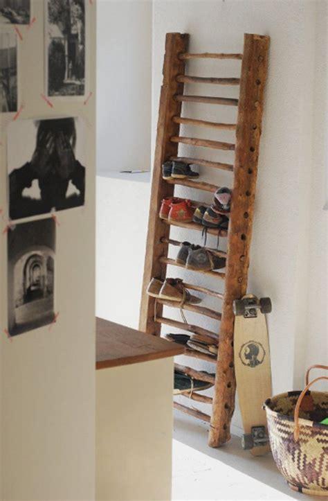 Diy-Ladder-Shoe-Rack