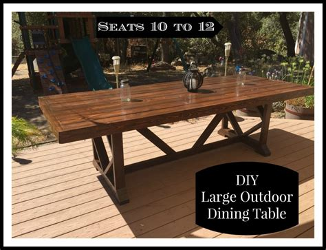 Diy-Large-Outdoor-Dining-Table