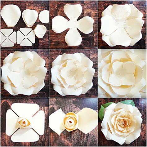 Diy-Large-Paper-Rose-Template