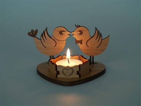 Diy-Laser-Cut-Wooden-Tea-Light-Candle-Holder-Kit