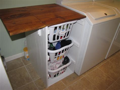 Diy-Laundry-Fold-Down-Table