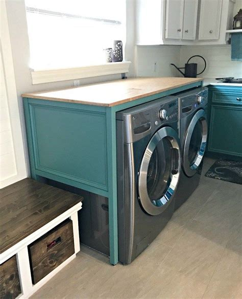 Diy-Laundry-Folding-Table-Over-Washer-And-Dryer