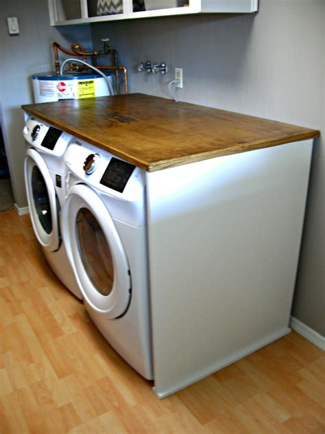 Diy-Laundry-Folding-Table-Top-Loader-Washer