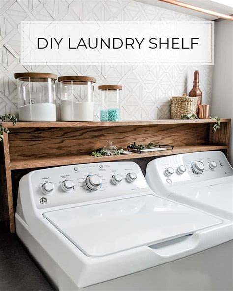Diy-Laundry-Room-Shelf-Over-Washer-Dryer