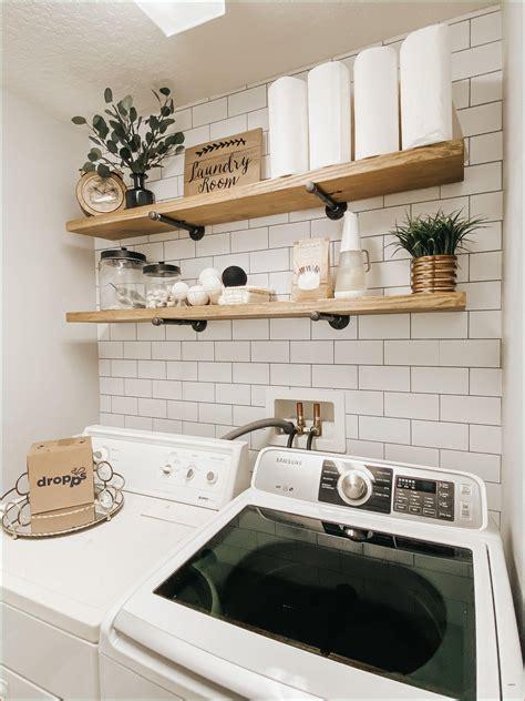 Diy-Laundry-Shelves