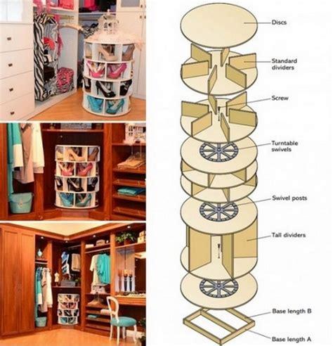 Diy-Lazy-Susan-Shoe-Rack-Instructions
