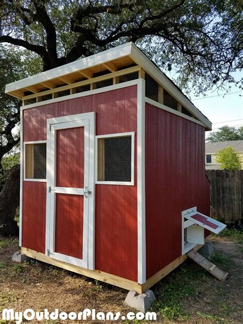 Diy-Lean-To-Chicken-Coop