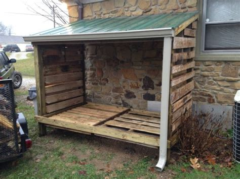 Diy-Lean-To-Wood-Shed