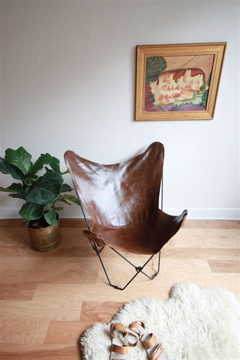 Diy-Leather-Butterfly-Chair