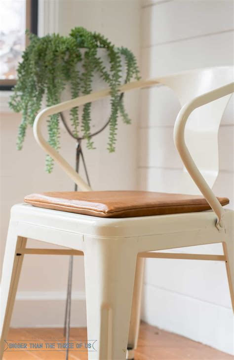 Diy-Leather-Chair-Pads