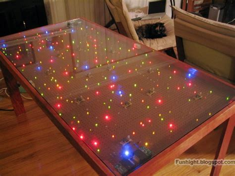 Diy-Led-Glass-Table