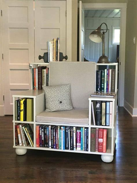Diy-Library-Bookcase-Chair