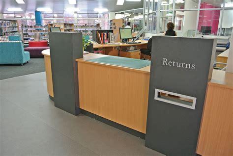 Diy-Library-Circulation-Desk-Ideas