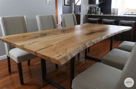 Diy-Living-Edge-Table