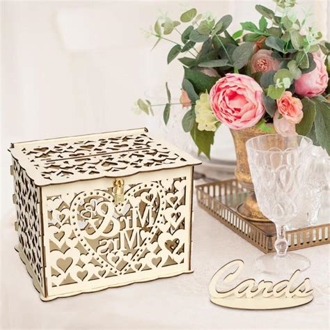 Diy-Locking-Wedding-Card-Box