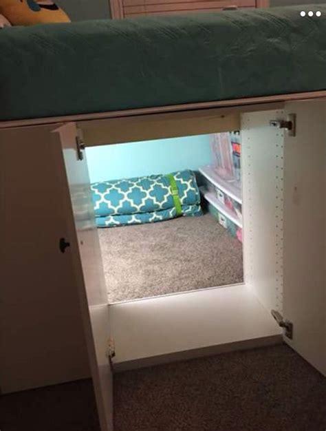Diy-Loft-Bed-Secret-Room