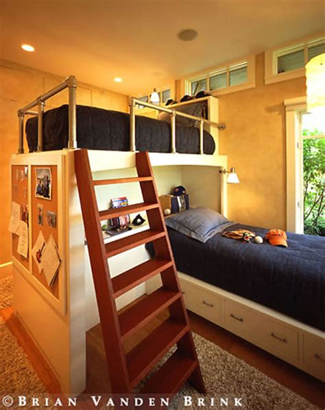 Diy-Loft-Bed-Shelf