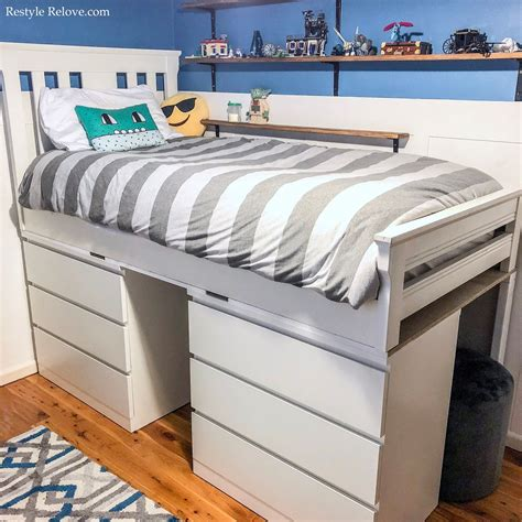 Diy-Loft-Bed-With-Drawers
