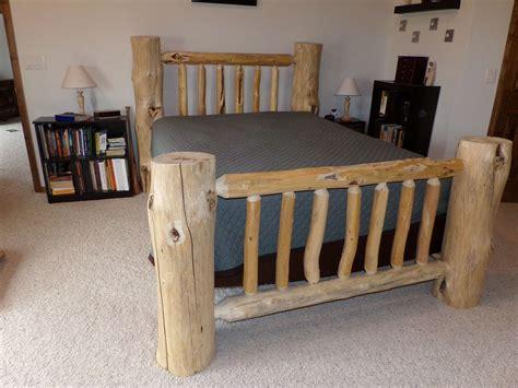 Diy-Log-Bed