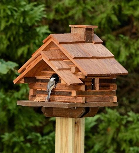 Diy-Log-Cabin-Birdhouse