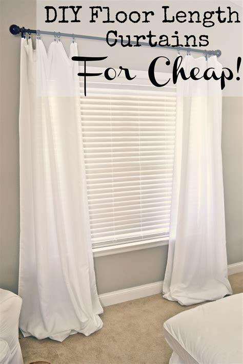 Diy-Long-Curtains