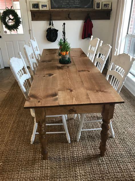 Diy-Long-Skinny-Dining-Table