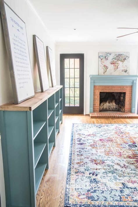 Diy-Low-Bookcase