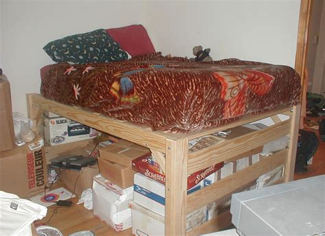 Diy-Low-Loft-Bed-Plans
