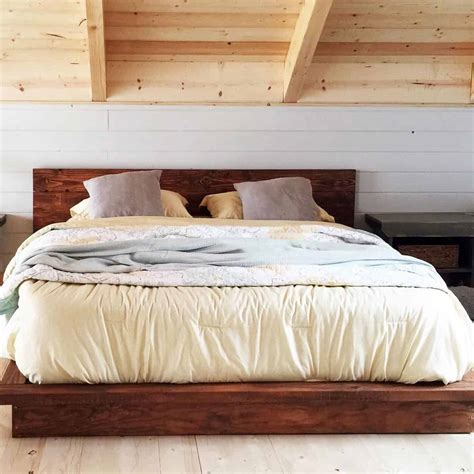 Diy-Low-Platform-Bed