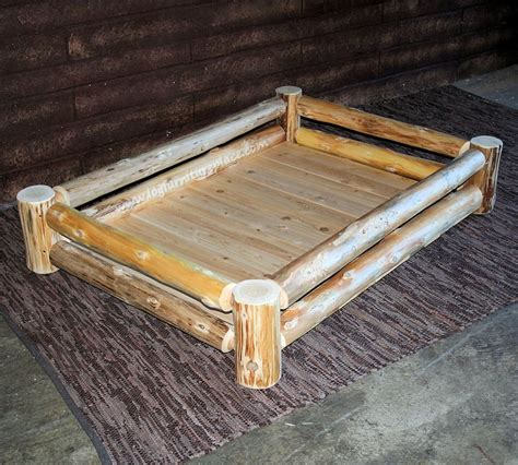 Diy-Low-Profile-Wooden-Dog-Bed