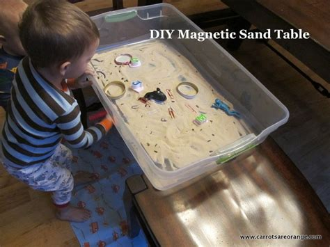 Diy-Magnetic-Sand-Table