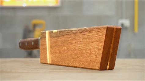 Diy-Magnetic-Wooden-Knife-Sheath