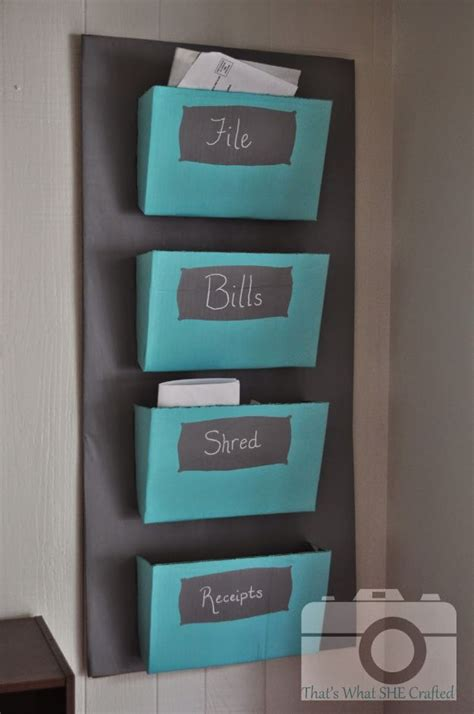 Diy-Mail-Organizer-Cardboard