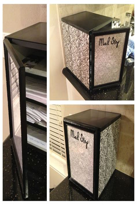 Diy-Mail-Rack