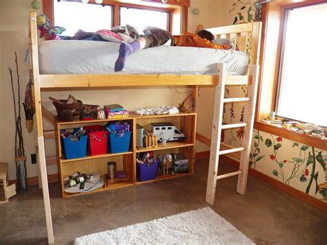 Diy-Make-Loft-Bed-From-Regular-Bed