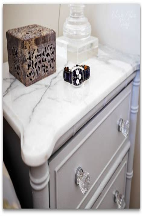 Diy-Marble-Top-Bedside-Table