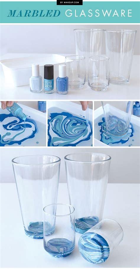Diy-Marbled-Glassware