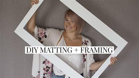 Diy-Matting-And-Framing