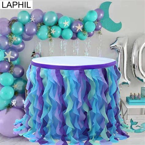 Diy-Mermaid-Table-Skirt