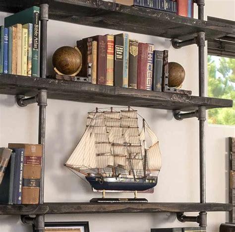 Diy-Metal-Bookcase
