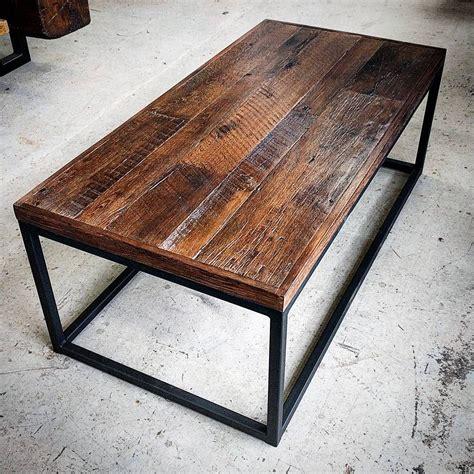 Diy-Metal-Frame-Coffee-Table-With-Wood-Top
