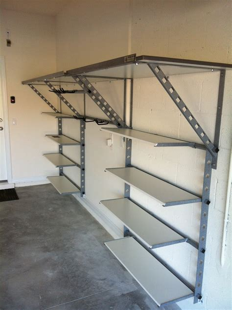 Diy-Metal-Garage-Shelving