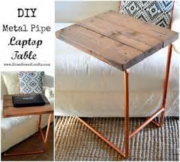 Diy-Metal-Pipe-Laptop-Table
